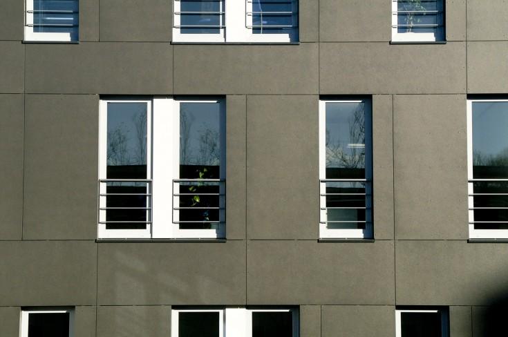 Ausschnitt Westfassade