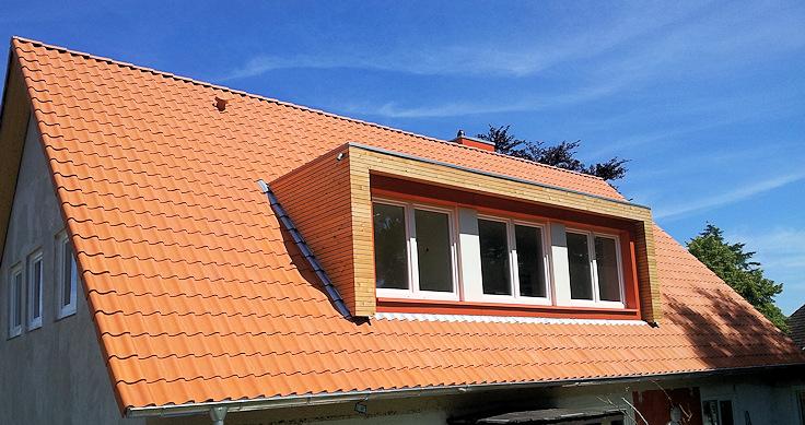 Dachgeschoss nach dem Umbau