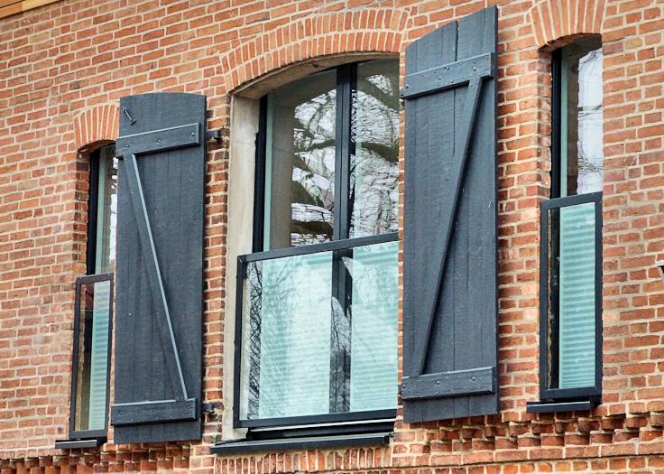 Fensterdetail nach Umbau