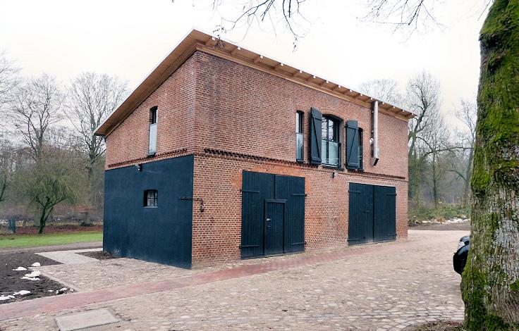 Ansicht von der Hofseite (Hofgestaltung Ing.-Büro Biethahn und Partner)