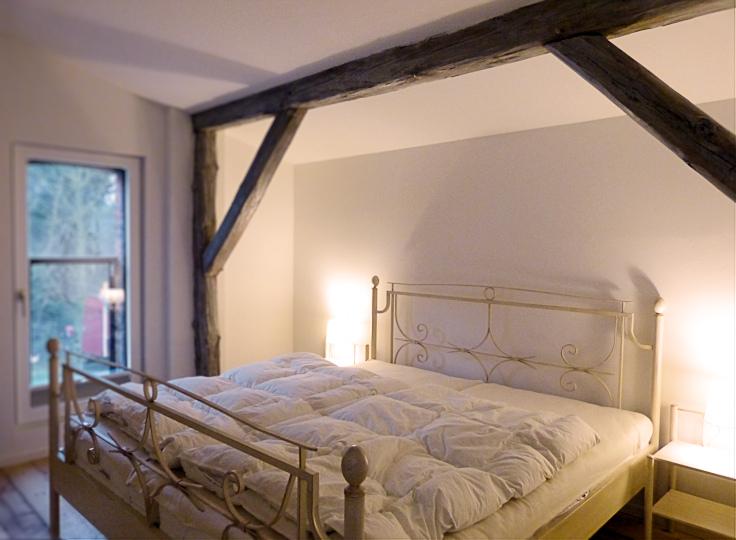 Schlafzimmer (Möblierung durch Bauherrn)