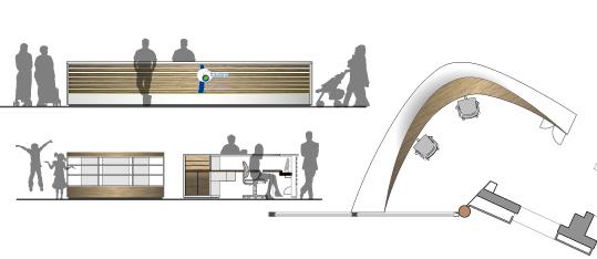 EWT 1. BA – Umbau, energetische Sanierung und brandschutztechnische Ertüchtigung eines Ausstellungs- und Verkaufsgebäudes