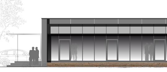 S16 – Teilumbau und energetische Sanierung einer Lagerhalle zu einem Verwaltungsgebäude auf Passivhausniveau