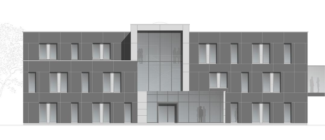 S20 - Neubau eines Verwaltungsgebäudes für eine Recyclingpapier Fabrik